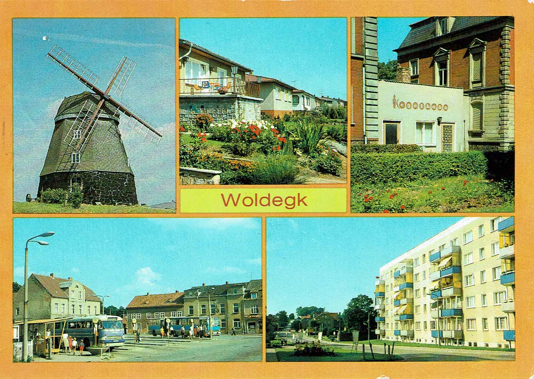 Postkarte Woldegk